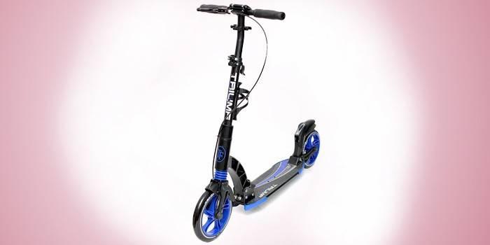 Самокат з надувними колесами - огляд кращих моделей з описом, технічними характеристиками, цінами та фото