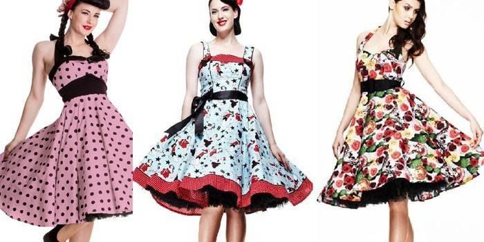 Стиль пін-ап - відмітні особливості та ідеї модних образів для дівчат з фото