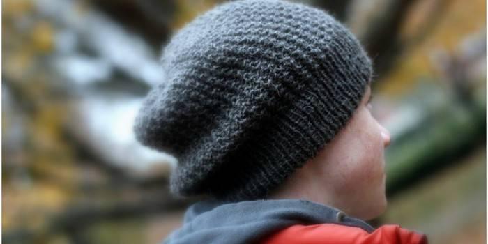 Як зв'язати шапочку для хлопчика спицями з докладними інструкціями і схемою