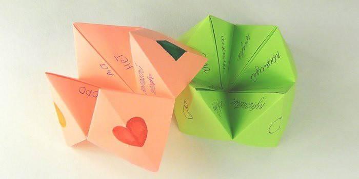 Як зробити ворожку з паперу: створення цікавої іграшки для дитини своїми руками