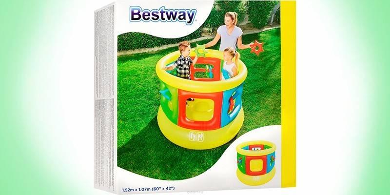 Дитячий батут для будинку - як вибрати за розміром, віком дитини, матеріалу виготовлення, бренду і вартості
