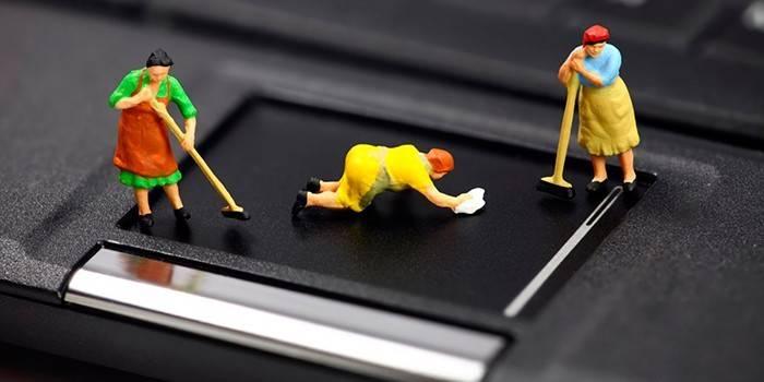 Як очистити ноутбук від пилу - огляд ефективних способів без розбирання корпусу