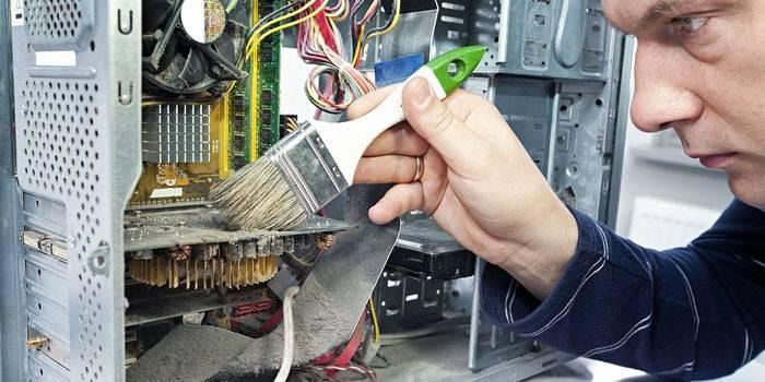 Як почистити комп'ютер від пилу за допомогою пилососа в домашніх умовах, чистка миші і клавіатури