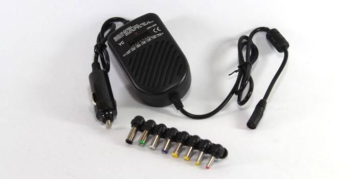 Як зарядити ноутбук в машині - способи зарядки і вибір зарядного пристрою