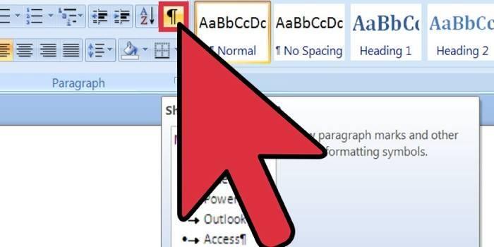 Як видалити порожню сторінку в Ворд в документі