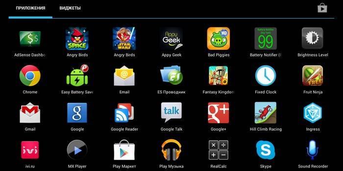 Як зробити скріншот на планшеті за допомогою додатків, одночасного натискання кнопок або програми