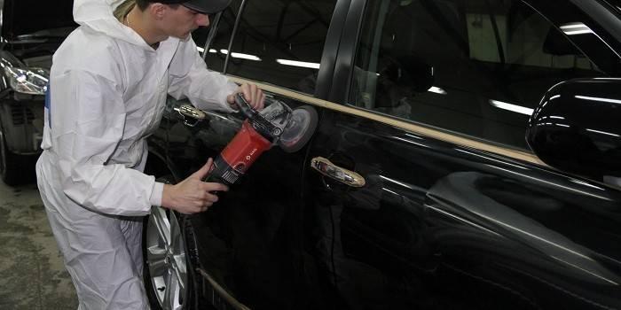 Полірування автомобіля - види, засоби і технологія: як відполірувати машину своїми руками, ціна послуги в салоні