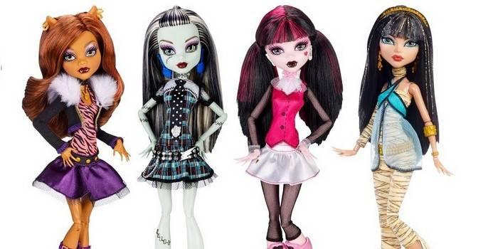 Як зшити одяг для ляльок Монстер Хай - майстер-клас