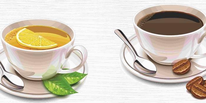 Болі в області серця після прийому чаю або кави - причини: рекомендації по вживанню