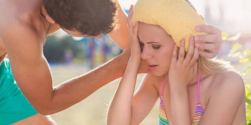 Перша допомога при сонячному ударі - симптоми та ознаки у дітей або дорослих