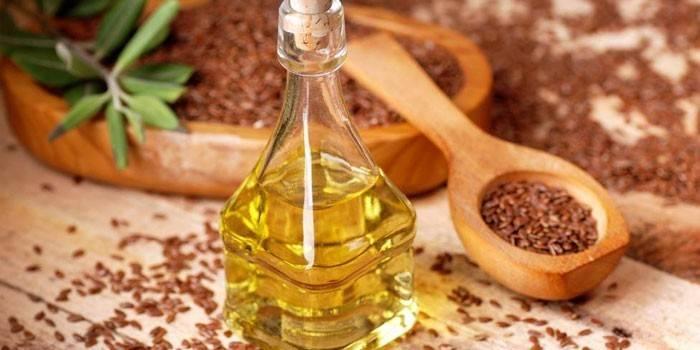 Як пити лляне масло - лікувальні властивості, схема і тривалість вживання, протипоказання