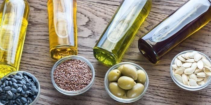 Рослинний жир - що це таке, види і корисні властивості, список олійних культур та протипоказання