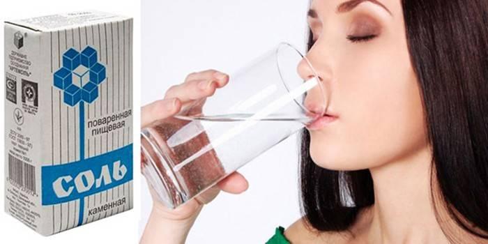Полоскання горла сіллю - від чого допомагає і як приготувати морську воду для лікування в домашніх умовах