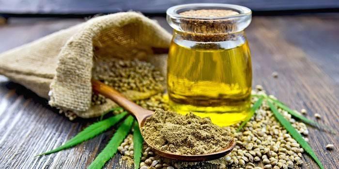Конопляне масло: корисні властивості, протипоказання, відгуки