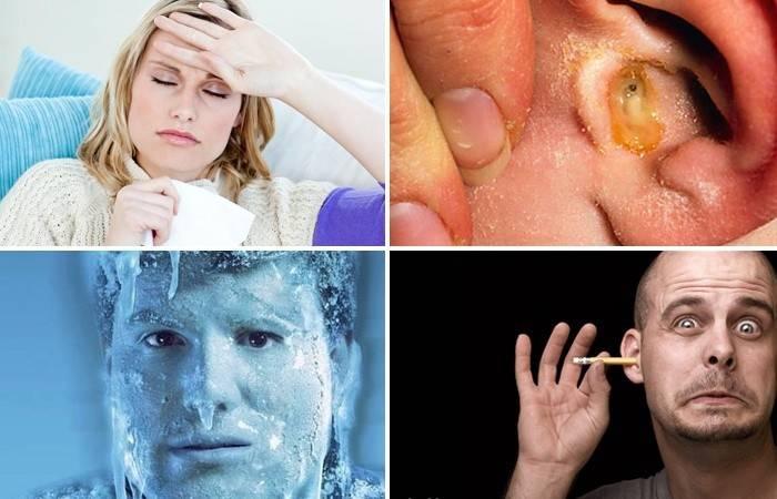 Болить вухо - що робити, лікування в домашніх умовах