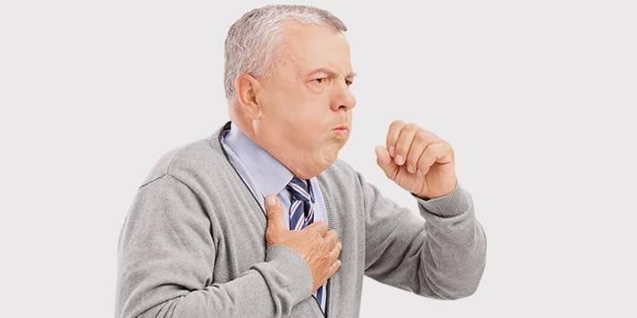 Кашель при серцевій недостатності: симптоми і лікування сухого і з мокротинням