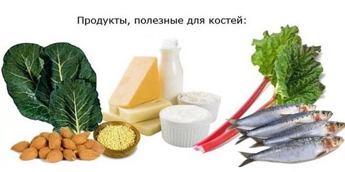 Харчування при переломах кісток рук для швидкого зрощення - корисні продукти