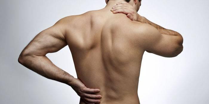 Масаж спини при остеохондрозі техніка виконання і тривалість лікувального або точкового