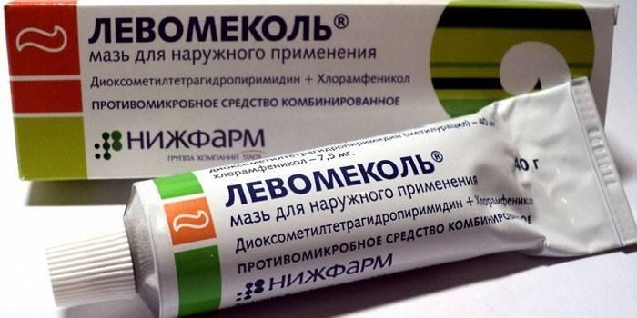 Левомеколь при геморої - інструкція щодо застосування мазі, відгуки про лікування