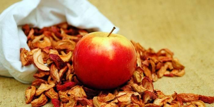 Сушіння яблук в духовці електричної - технологія приготування