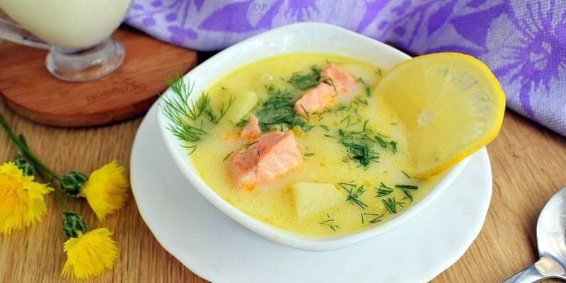 Юшка по-фінськи з вершками: як приготувати суп