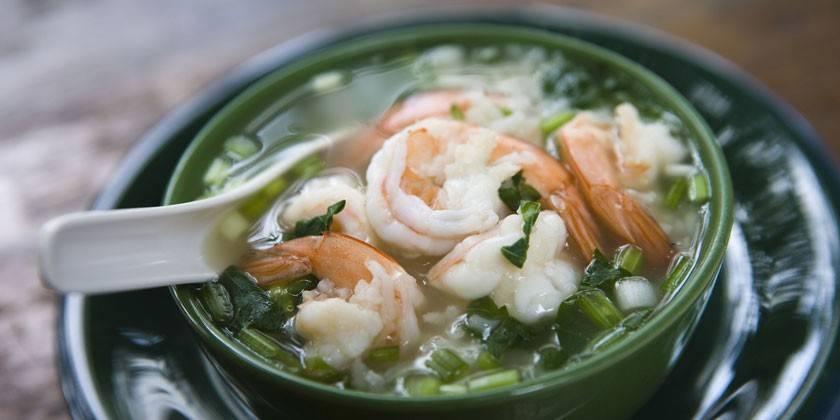 Суп з креветок - як швидко і смачно готувати вершковий, пюре або гострий