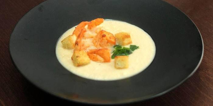 Суп з морепродуктів - покрокові рецепти приготування з фото