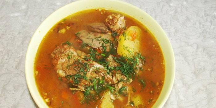 Суп з кролика - як смачно приготувати з вермішеллю, картоплею або рисом за рецептами з фото