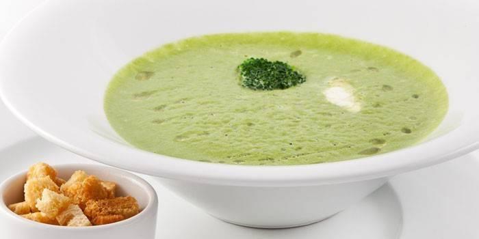Суп-пюре з брокколі - як приготувати за рецептами з фото вершковий, сирний або дієтичний