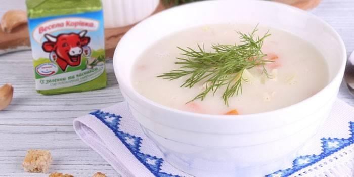 Сирний суп з куркою - як приготувати з плавленого або твердого сиру за рецептами з фото