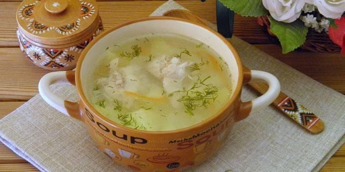 Суп з рисом - смачні рецепти приготування перших страв з рибою, куркою або м'ясом з фото