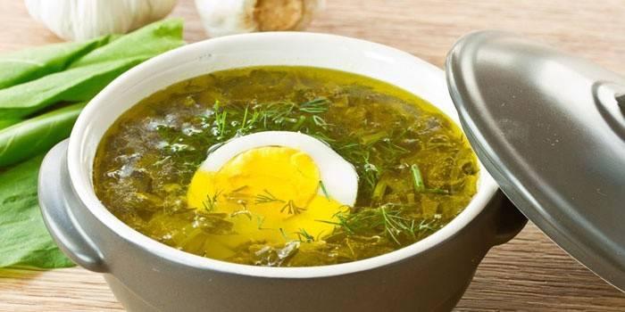 Щавлевий суп: як приготувати покроково