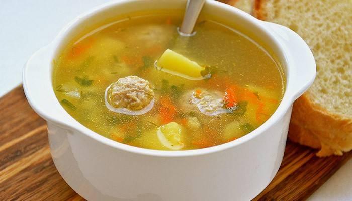 Суп з фаршем - покрокові рецепти приготування, фото і відео