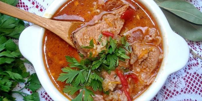 Суп харчо з курки - рецепти покрокового приготування з фото і відео