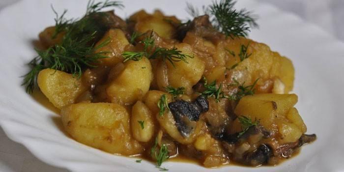 Картопля в мультиварці - як готувати варену, смажену, тушковану і запечену покроково
