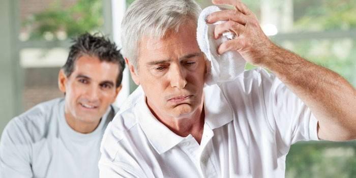 Пітливість ночами - причини у чоловіка, лікування підвищеного потовиділення
