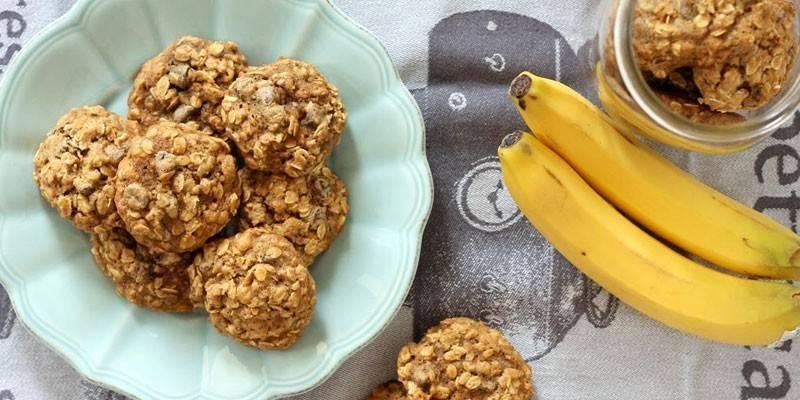 Вівсяне печиво з бананом домашнього приготування