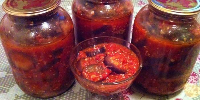 Салат Тещин язик - покрокові рецепти приготування страви з кабачків або баклажанів