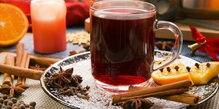 Безалкогольний глінтвейн: приготування напою вдома, відео