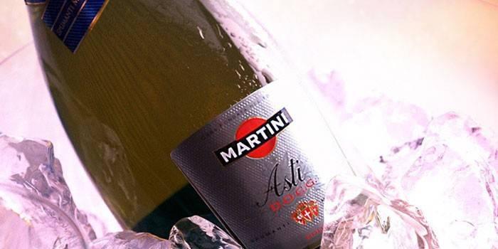 Мартіні асті - ігристий напій