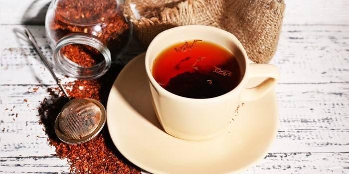 Чай Ройбуш - користь і шкода, різновиди, опис, застосування для схуднення і як правильно заварити