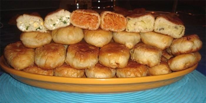 Начинка для пиріжків - як зробити для дріжджового, листкового або здобного тіста
