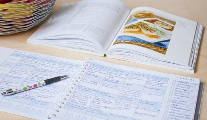 Меню на тиждень для сім'ї з рецептами і списком продуктів, правила складання