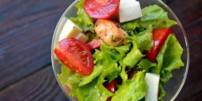 Салат з мідій в олії - покрокові рецепти приготування з фото