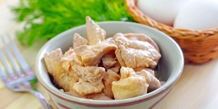 Печінка тріски - салат смачний і простий
