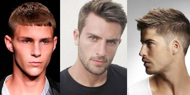 Чоловічі зачіски з чубчиком - як вибрати модну стрижку і правильно укласти з відео