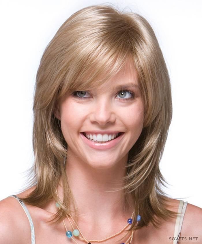 Стрижка каскад на середні волосся: варіанти зачісок з фото