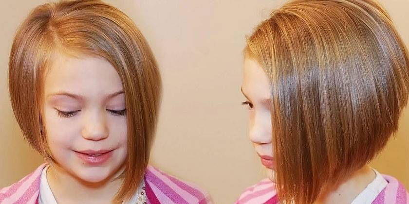 Стрижки для дівчаток - як підібрати за віком, довжині волосся, овалу обличчя, рекомендації та ціни в салонах