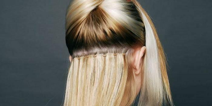 Нарощене волосся з фото до і після - як мити, розчісувати і правильно підбирати уходовые кошти