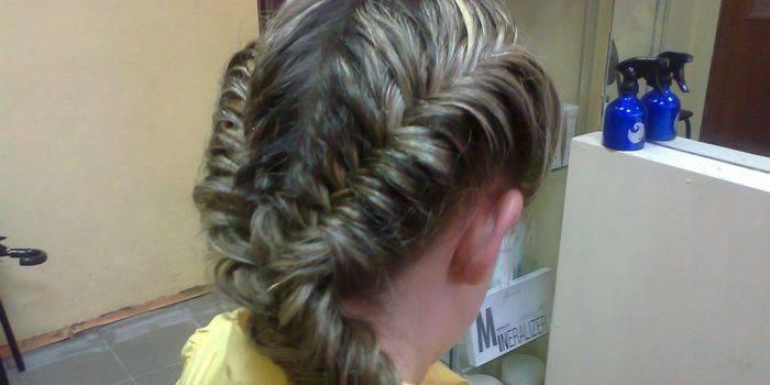 Коса риб'ячий хвіст - покрокові схеми плетіння волосся для стильної зачіски